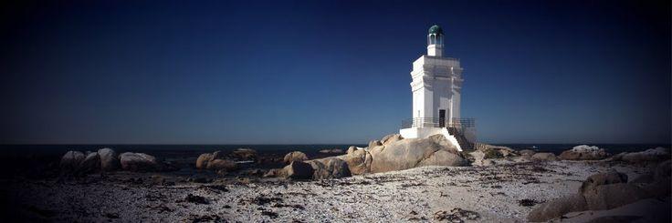 Stompneuspunt Lighthouse, St Helena Bay, Western Cape, South Africa