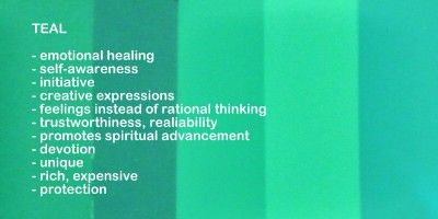 Meaning Of The Color Teal | teal color meanings and symbolism