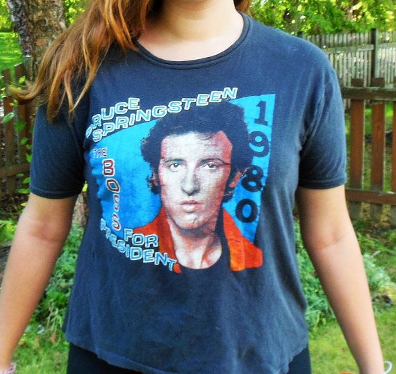 Bruce Springsteen RARE Vintage T-Shirt  by borntolovebruce on Etsy