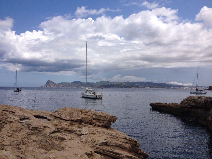 Bay of Cala Bassa, Ibiza