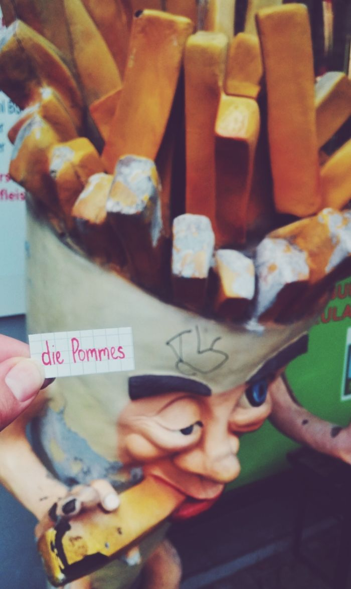 die Pommes - chips