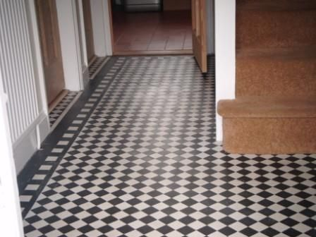 16 best images about hallway tiles on pinterest striped for 1930 floor tiles