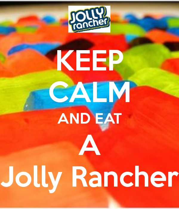 Me <3 Jolly Ranchers!!