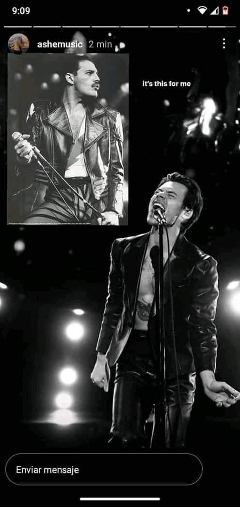 Harry Styles utilizo un look de freddie mercury en la presentancion de los premios grammy Harry Styles, Harry Edward Styles, Freddie Mercury, My Forever, Coincidences, Larry Stylinson, Love Of My Life, My Boys, Instagram Story