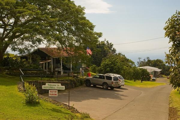 Greenwell Coffee Farm Big Island Hawaii