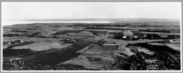 View from the Look Off, Kings County Nova Scotia c. 1892-1910