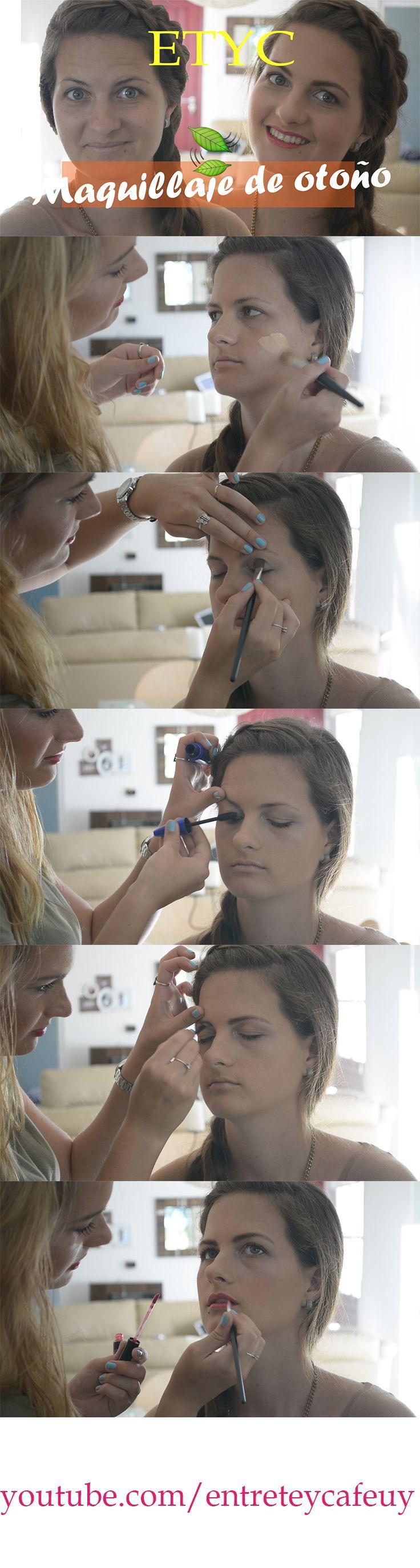 Maquillaje súper suave y sencillo para el otoño.