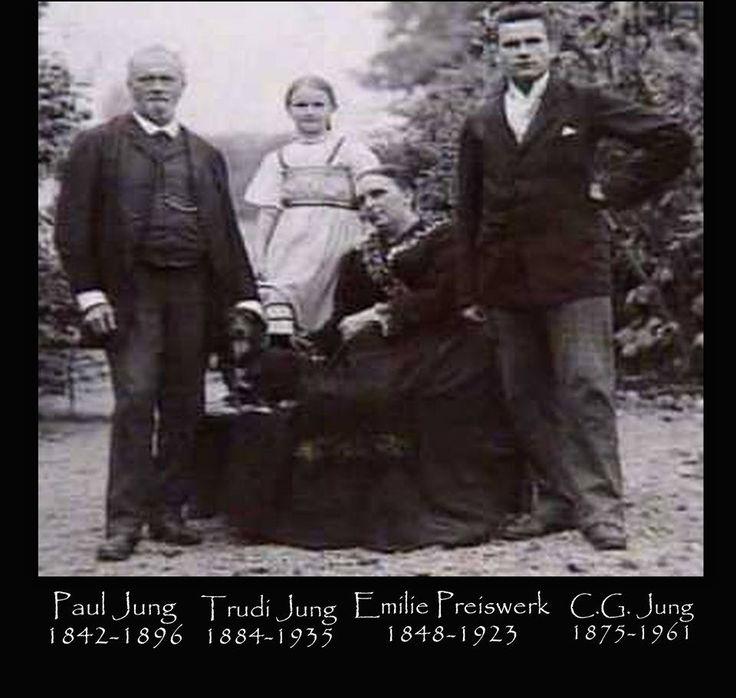 Paul Jung, Trudi Jung, Emilie Preiswerk, Carl Jung