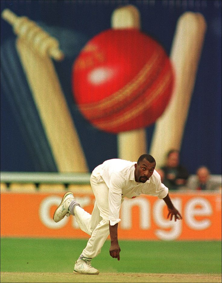 Philip Brown utilises an unconventional backdrop. Unconventional backdrop, stand-out photo.After sitting down I noticed that the sightscreen from the Texaco trophy match was still in place and showing a colourful ad with large stumps and a ball. I immediately thought this was a really interesting background for photographs. I also thought  as the batsmen would object to this as it was pretty much in their eyeline. I was amazed when the game continued with the sight screen untouched.