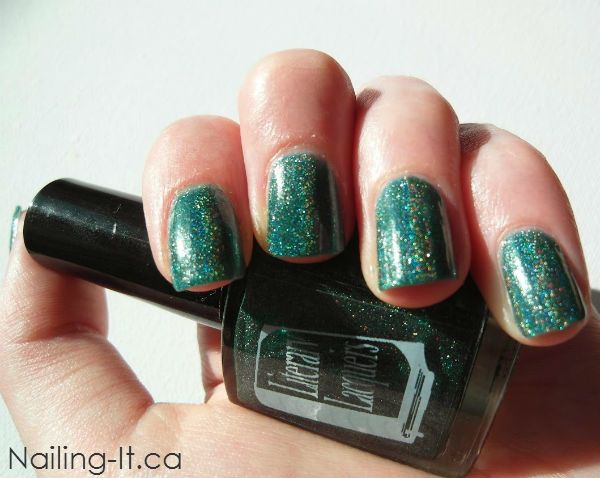 Swatch and review of Lake of Shining Waters from Literary Lacquers