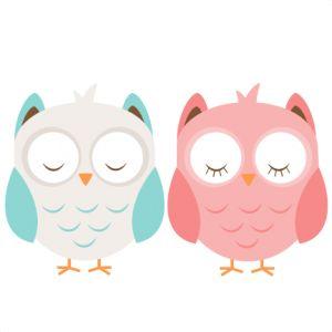 Daily Freebie 6-7-14: Miss Kate Cuttables--Boy & Girl Owl SVG cutting file cute owl clipart free svg cut files free svg cut files for cricut cute svgs