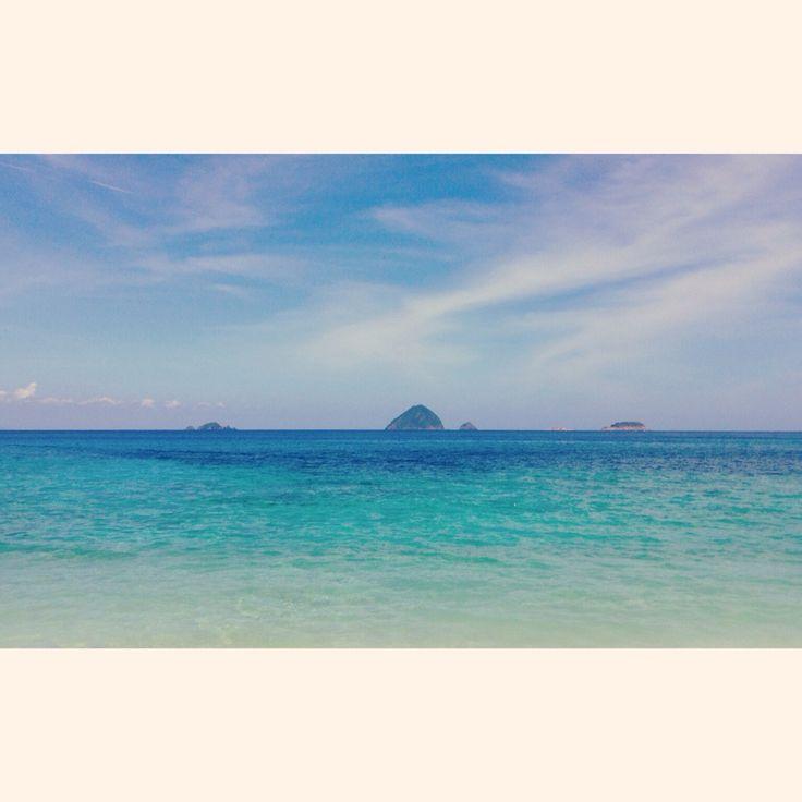 Pulau Perhantian, Malaisie.