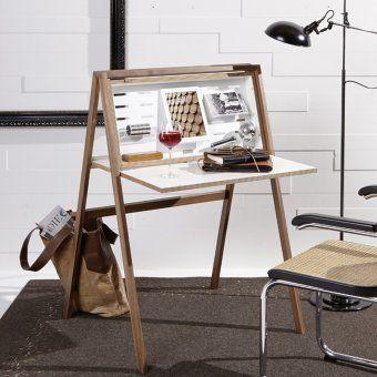 #design3000 Platzsparender Sekretär für Laptops und Tablets.
