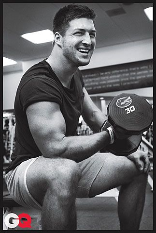 Tebow in GQ ♥