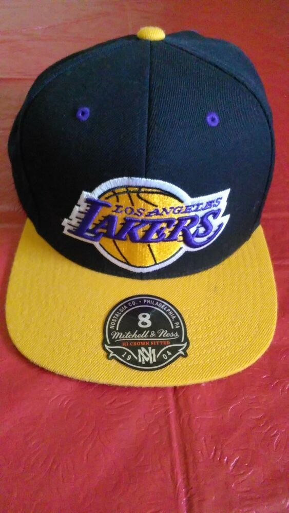 20eb0bb3ab5f72 Los Angeles Lakers black purple and yellow men's fitted hat #fashion  #clothing #shoes #accessories #mensaccessories #hats (ebay link)