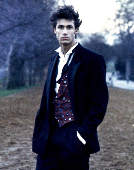 Nigel Barker Before He Was Famous Flashback Pic Nigel Barker Famous Photography