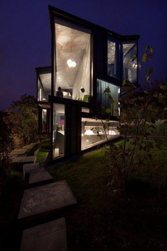 18 Modern Glass House Exterior Designs: Minimal Design Blog