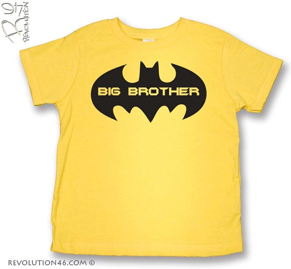 Ready to Ship Super Hero Big Brother TShirt by ...