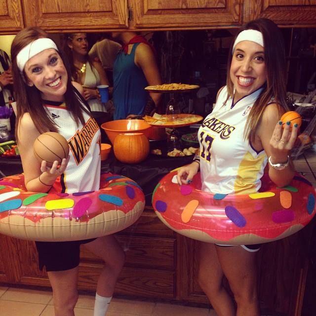 Halloween Dunkin Donuts Costume DYI dunkindonuts  That