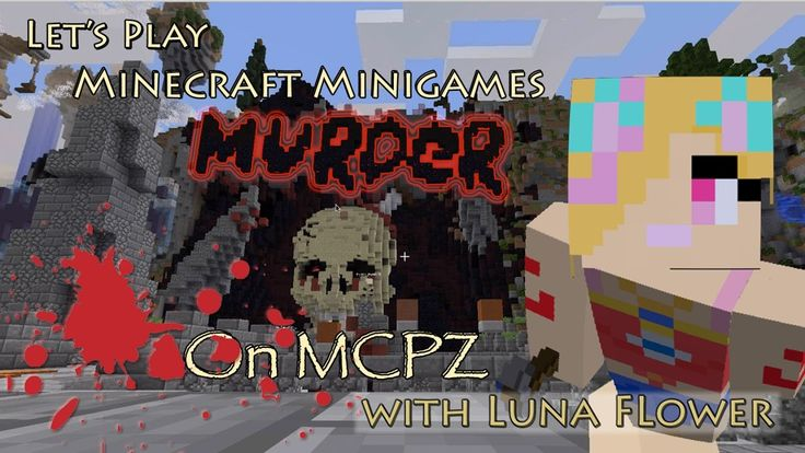 Let's Play Minecraft Minigames - Murder at the Minecraft Party Zone