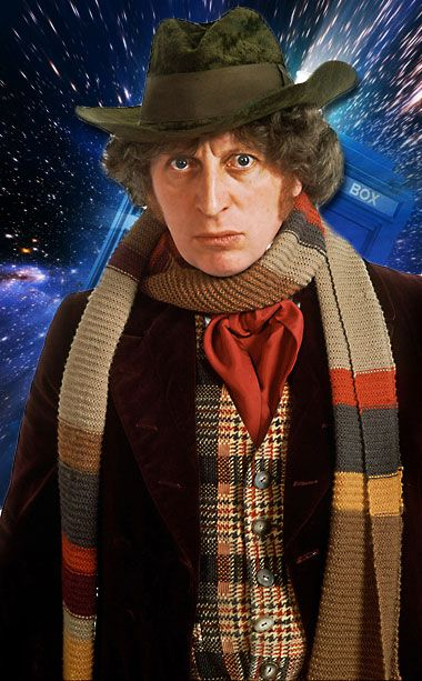 #4 Tom Baker (1974-1981): The most beloved of the old Doctors, the hobbies of his Time Lord included wearing lengthy scarves, handing out Jelly baby candy, and generally being awesome.