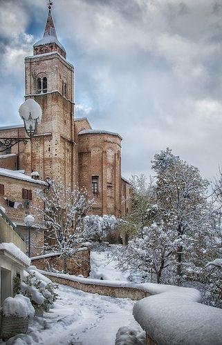 Amandola, Le Marche, Italy