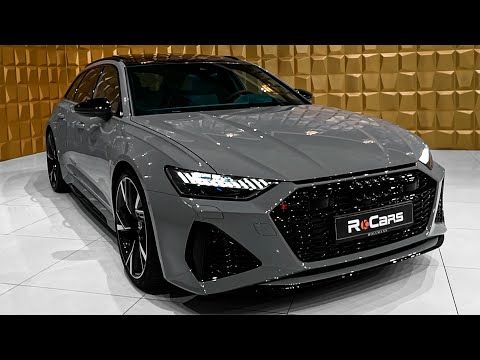 2020 Audi Rs6 Avant In Beautiful Details Nardo Gray Youtube In 2020 Audi Rs6 Nardo Grey Audi