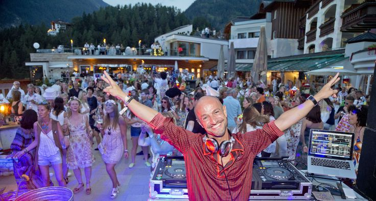 DJ Peyman Amin @ STOCK resort, Tyrol, Austria. www.stock.at
