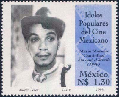 Мексиканский комик, сценарист, продюсер Кантинфлас.