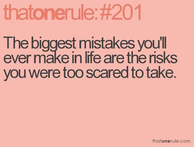 Take a risk...