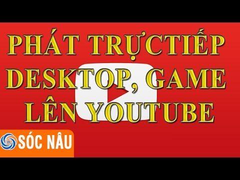 Cách phát trực tiếp màn hình desktop, trực tiếp game, trực tiếp powerpoint lên trên youtube. Trong video trước Kênh tin học đã hướng dẫn bạn cách tạo sự kiện...