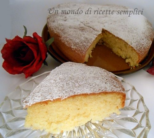 La torta allo yogurt, conosciuta anche come torta dei 7 vasetti è una torta soffice e dal sapore delicato,arricchita con della frutta è ancora più buona!