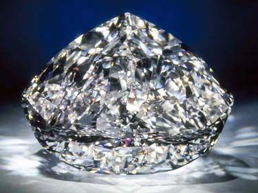 The Centenary Diamond  273.85 carats - D Color, Flawless Clarity