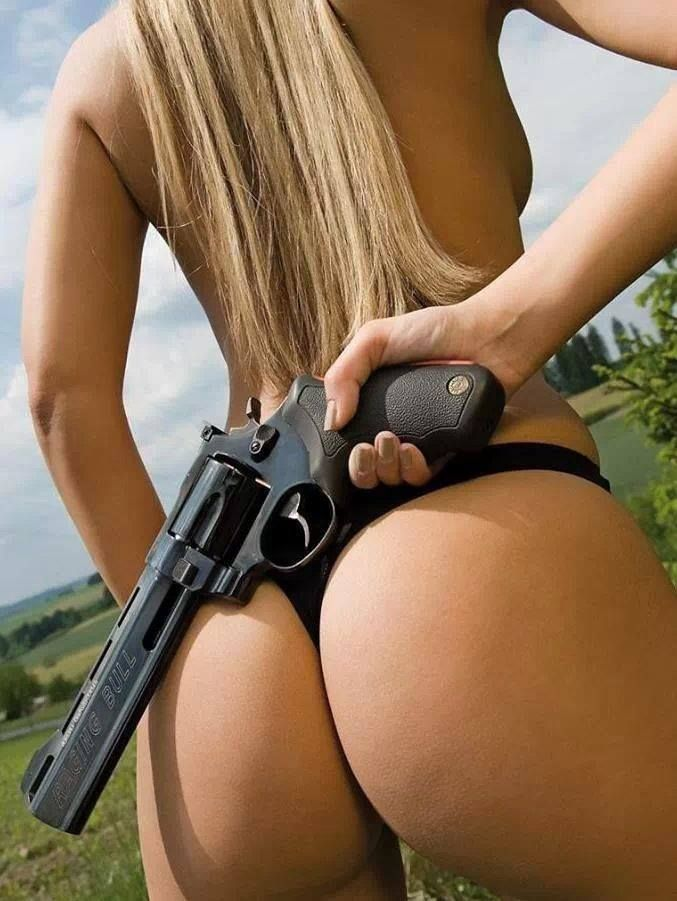 Pin on guns and babes
