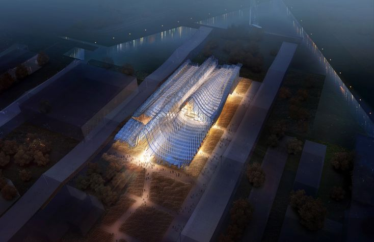 the china pavilion for expo milan 2015 by studio link-arc + tsinghua university - designboom | architecture & design magazine