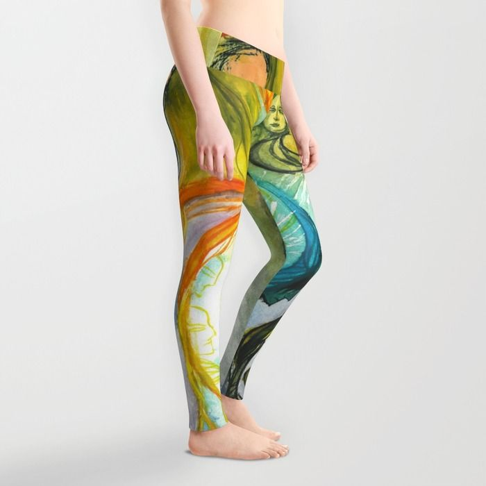 Fae Dance Leggings by Spring-fae | Society6