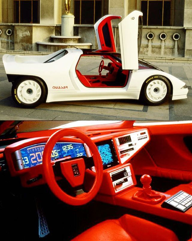 Dat Interior  … Peugeot Quasar, 1984 … #80scolors #conceptcar #conceptcars #conceptcardesign #industrialdesign #yuppie #yuppies #80sdesign #80s #eighties #80slook #80sstyle #epic80s #80scool #80sglam #80sfashion #80slove #neontalk #vintagedashboard #dashboarddesign #uxdesign #uidesign #love80s #80sart #peugeotdesign #peugeotquasar #backtothefuture #synthwave #newretrowave #newretro #80sglam