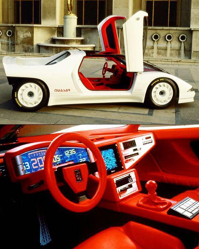 Dat Interior  … Peugeot Quasar, 1984 … #80scolors #conceptcar #conceptcars #conceptcardesign #industrialdesign #yuppie #yuppies #80sdesign #80s #eighties #80slook #80sstyle #epic80s #80scool #80sglam #80sfashion #80slove #neontalk #vintagedashboard #dashboarddesign #uxdesign #uidesign #love80s #80sart #peugeotdesign #peugeotquasar #backtothefuture #synthwave #newretrowave #newretro #80sglam