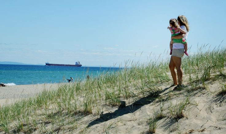 Take a drive out to Whitefish Point while you're staying in Sault Ste. Marie! Featured here is the Shipwreck Museum, the Whitefish Point Lighthouse, and a gorgeous beach, perfect for freighter-watching from a distance!
