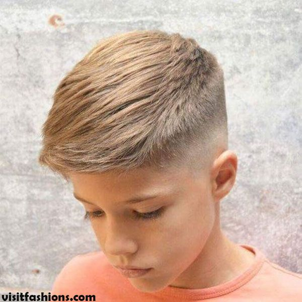 Taper Fade Cool Haircuts For Kids In 2020 Boy Haircuts Long Boys Fade Haircut Cool Boys Haircuts