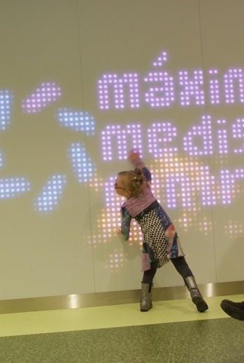 Zieke kinderen van MMC krijgen als eerste een interactieve muur.