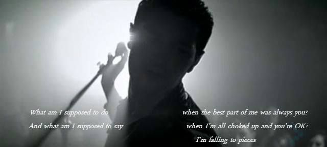 The Script - Falling to pieces edit