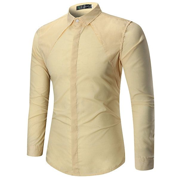 Best 25 mens designer shirts ideas on pinterest mens for Solid color button up shirts
