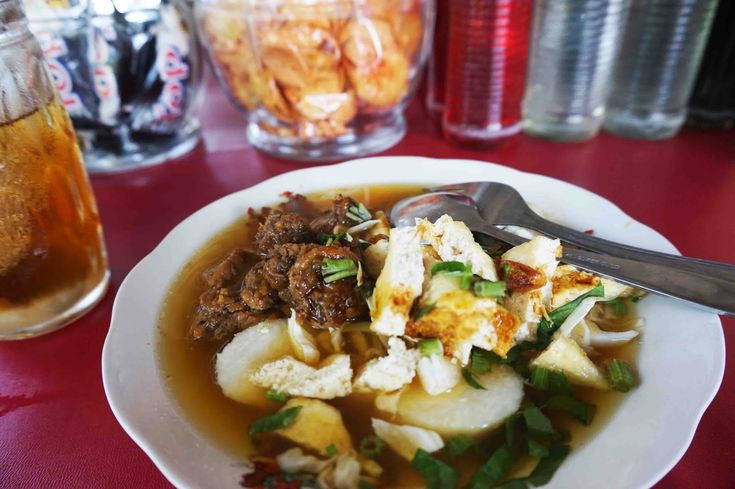 Lontong Krubyuk Tempat Wisata Kuliner Berbeda Khas Jepara - Kuliner Jepara