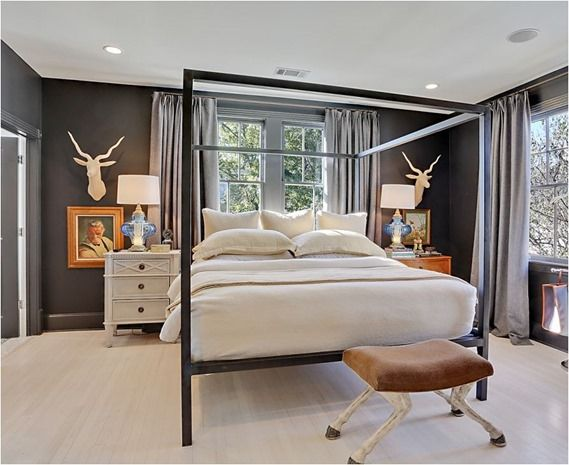 How to Mismatch Nightstands  Funky BedroomBedroom. The 25  best Funky bedroom ideas on Pinterest   Bed with no