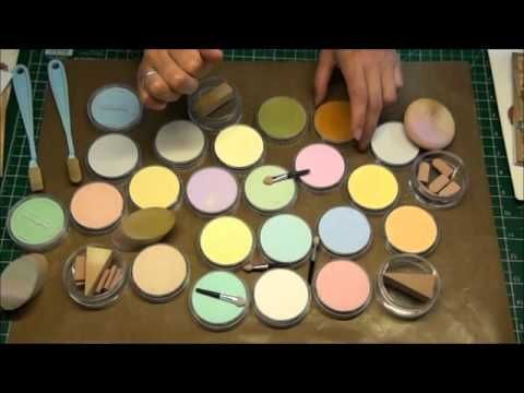 A video with pan pastels