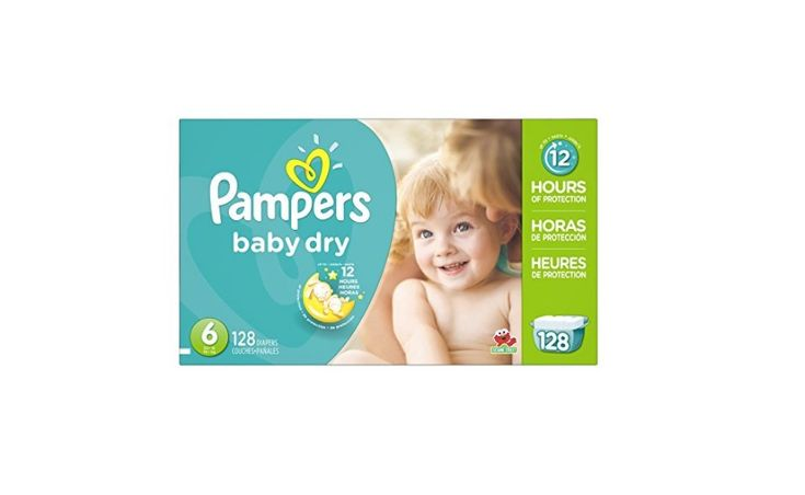 Pampers Baby Dry Diapers Economy Pack from $18.75 at Amazon