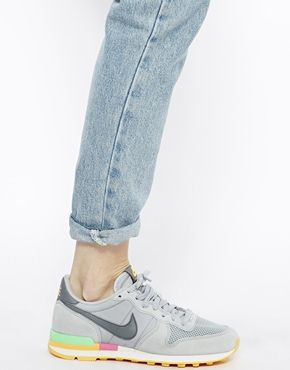 Nike - Internationalist - Baskets - Gris