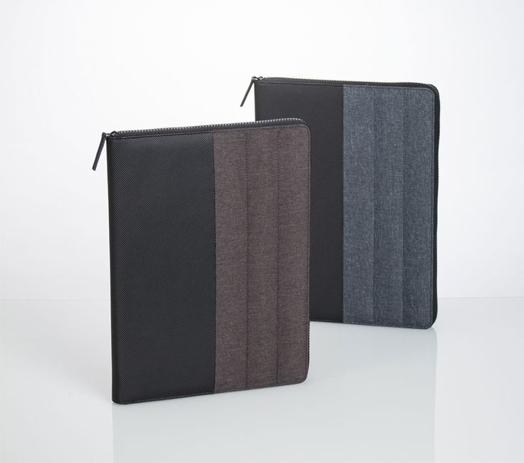 liberosystem Binder   #planner, #diary, #organizer, #leather, #note, #case Zipper lock type Fashionabe goods that mix synthetic leather and fabric