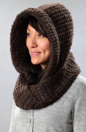 Hooded Infinity Scarf - The Kikyo by BMC at karmaloop.com